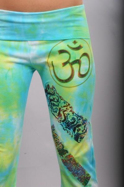 Bright Om Yoga Pants