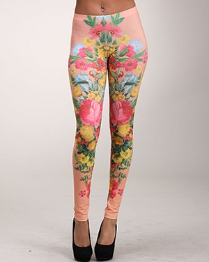 Lovely Flower Leggings