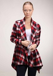 Flannel Blanket with Sleeves