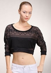 Crop Top Sweater