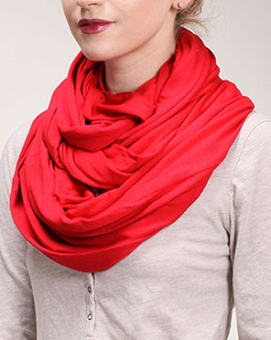Pop Red Infinity Scarf