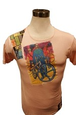 Italian Faux Silk Bike Tee